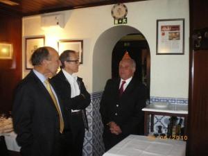No restaurante de um Oleirense