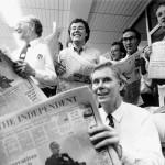 Nº1 de The Independent 1986