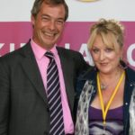 Nigel Farage e Esposa Kim Gandy