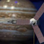 Juno na órbita de Júpiter - Foto Aubrey Gemignanina/Nasa