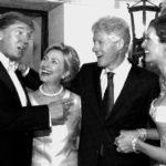 Os Clinton e os Trumps ainda...amigos