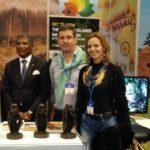 Fernando Vaz, Ministro do Turismo, com Patrícia Brighenti e Dr Tiago Bastos da AICEP