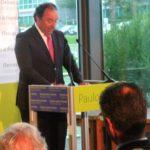 Paulo Vistas discursa na apresentação da candidatura